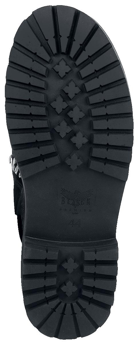 Image of Black Premium by EMP Gladstone Boots schwarz
