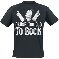 Simpsons-Homer Never Too Old To Rock