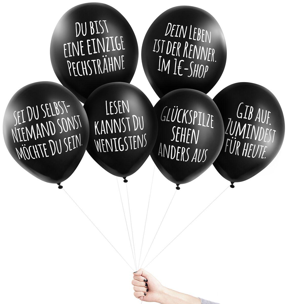 Image of Pechkeks Anti-Ballons - Versager Aufblasbares schwarz
