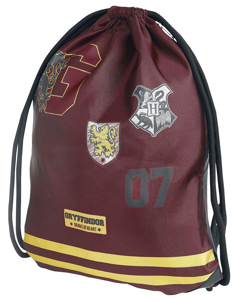 Sporttaschen - Harry Potter Gryffindor Turnbeutel rot gelb  - Onlineshop EMP