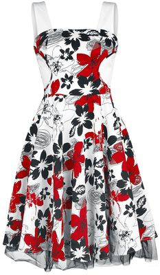 Aristocratic Floral Charlotte Dress