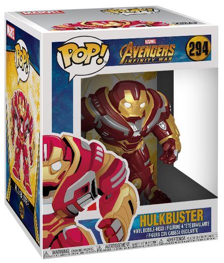 Avengers Infinity War - Hulkbuster Vinyl Figure 294 Funko Pop! multicolor 26898