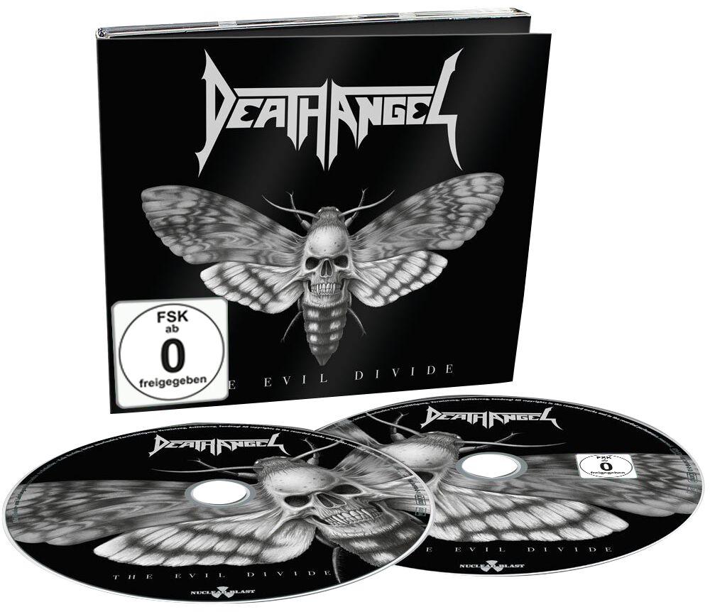 Image of Death Angel The Evil Divide CD & DVD Standard
