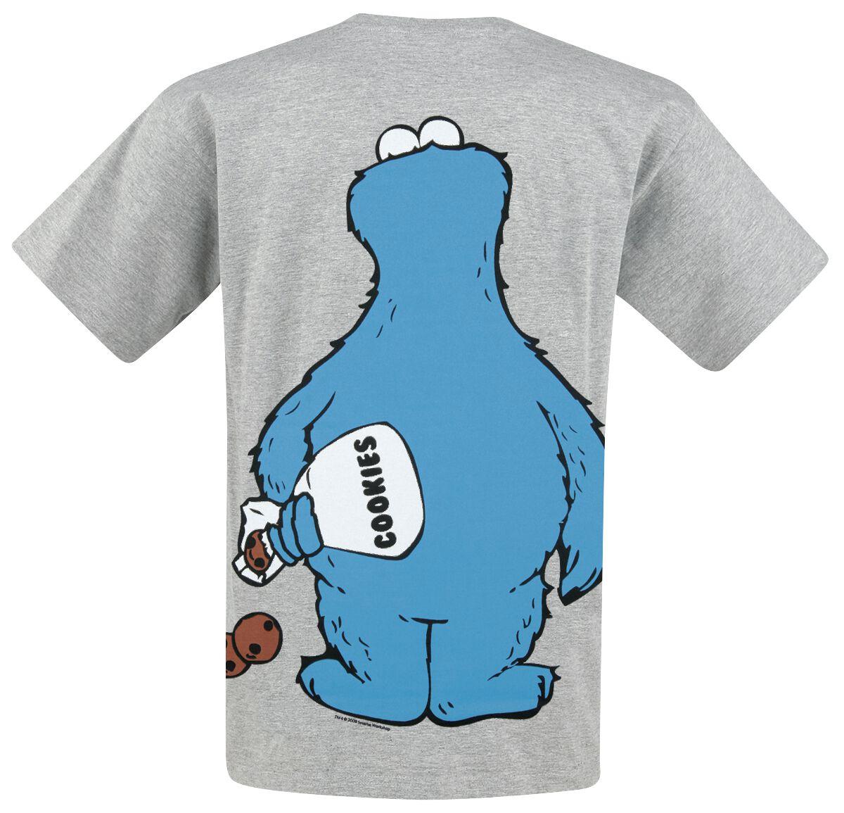 6d9919dbeb Krümelmonster - Cookie Thief | Sesamstraße T-Shirt | EMP