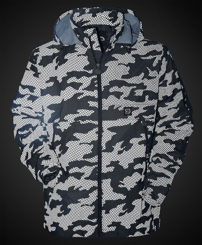 Übergangsjacke mit Camouflage-Muster