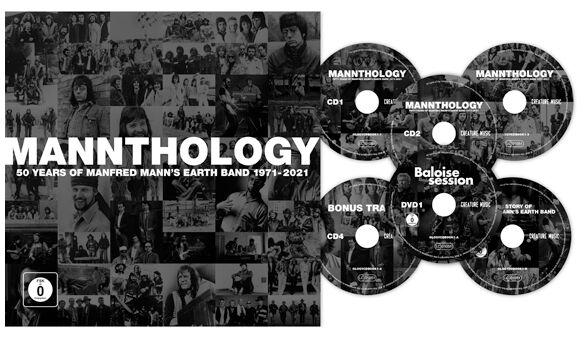Image of Manfred Mann's Earth Band Mannthology 4-CD & 2-DVD Standard