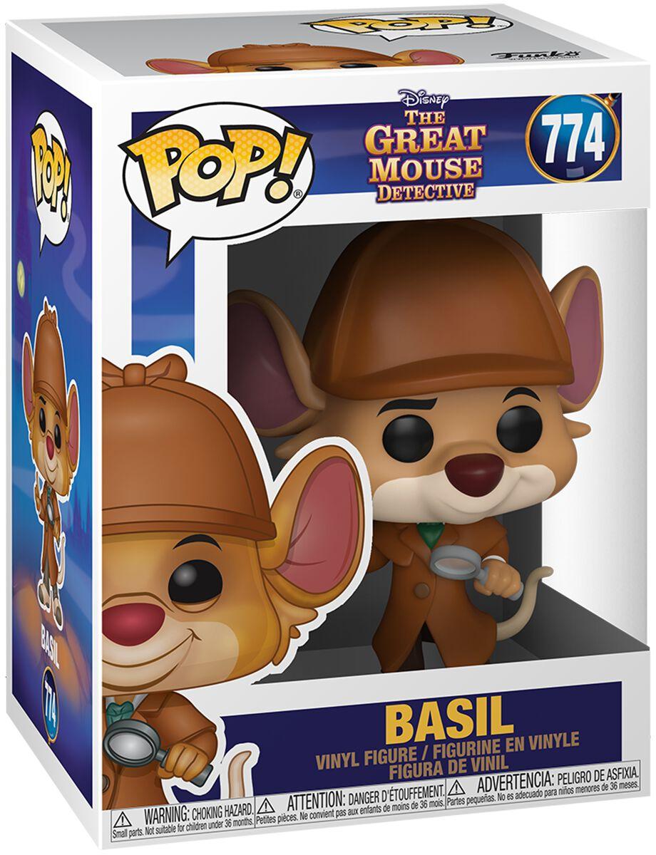 Basil, der grosse Mäusedetektiv  Basil Vinyl Figur 774  Sammelfigur  Standard