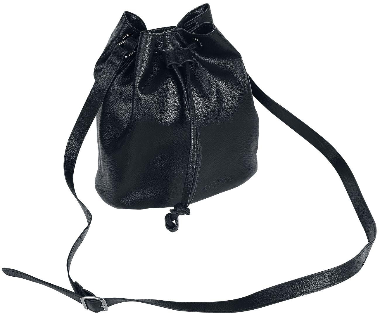 Handtaschen - Quadra NuHide Bucket Bag Handtasche schwarz  - Onlineshop EMP