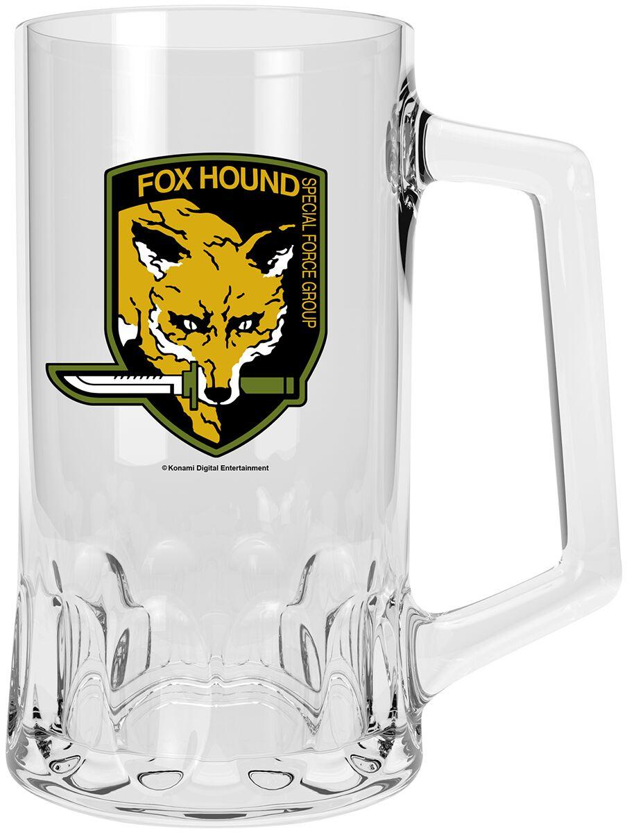 Metal Gear Solid Fox Hound Bierkrug klar ABYVER160