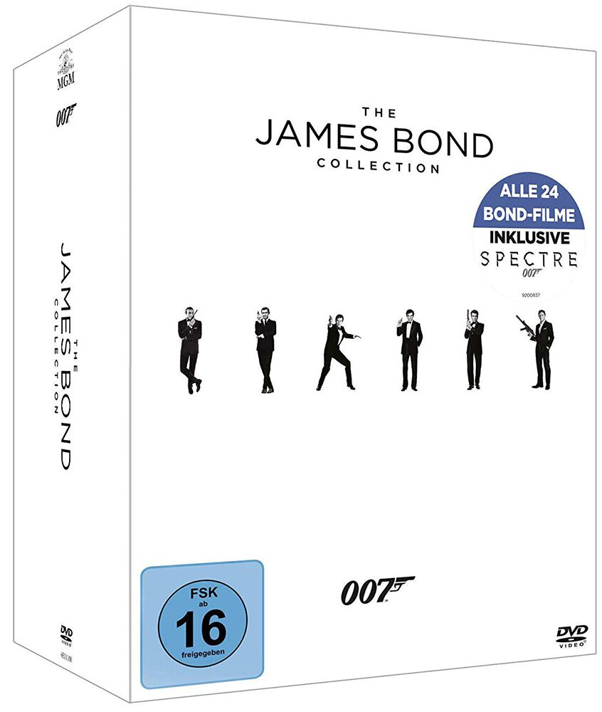 Image of James Bond Collection 24-DVD Standard