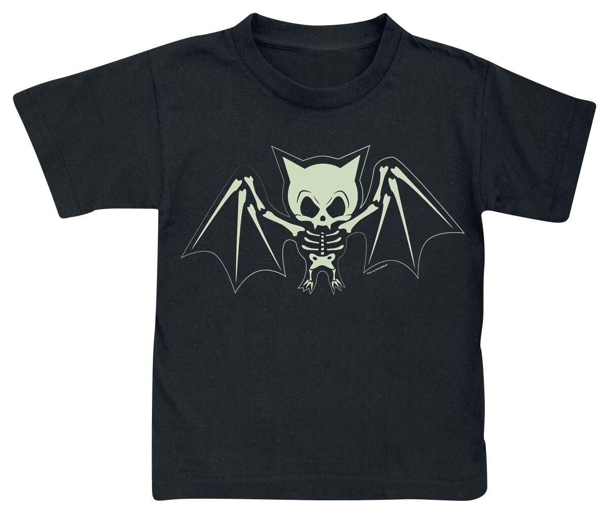 Image of Bat Skeleton Maglia bimbo/a nero