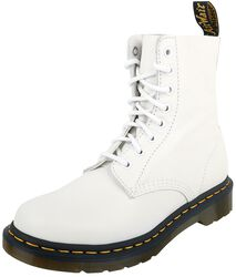 1460 Pascal Optical White Virginia 8 Eye Boot