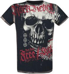 T-Shirt mit Skullprint