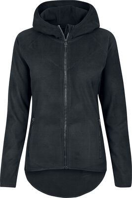Ladies Polar Fleece Zip Hoodie