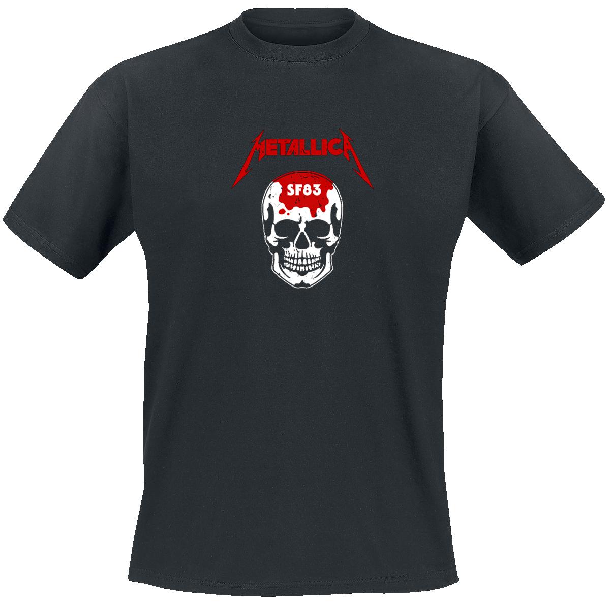 Metallica - Kill 'Em All - Skull - T-Shirt - black image