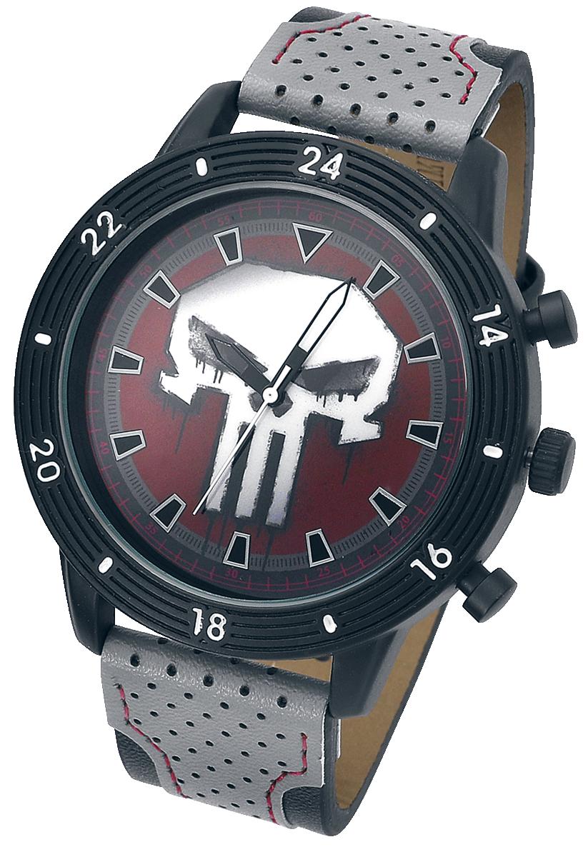 The Punisher - Punisher Logo - Armbanduhren - schwarz
