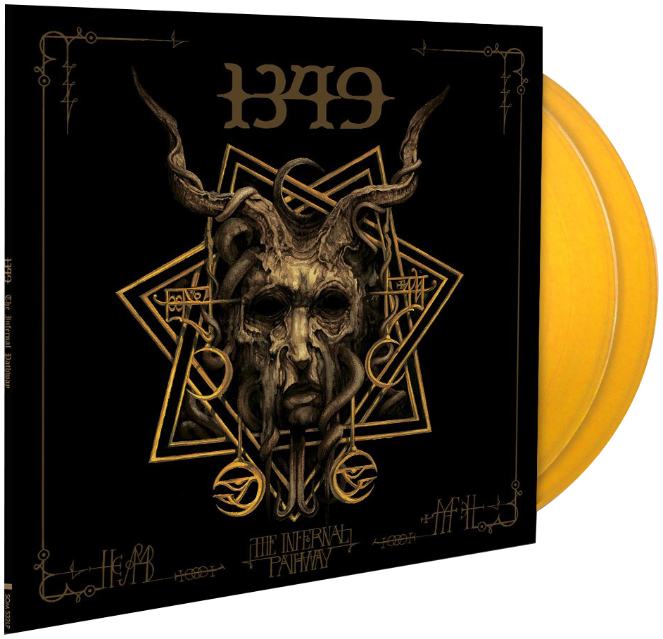 1349 - The infernal pathway - LP - yellow