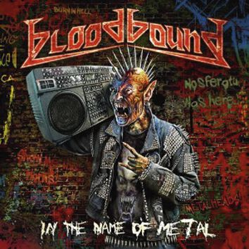 Bloodbound In the name of Metal CD multicolor AFM 4229