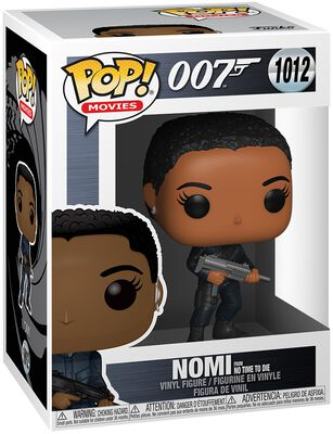 Nomi from No Time To Die Vinyl Figur 1012