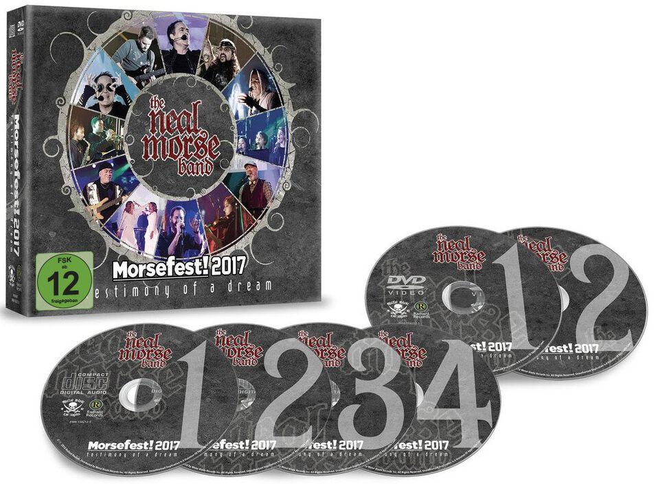 Image of Neal Morse Morsefest 2017: The testimony of a dream 4-CD & 2-DVD Standard