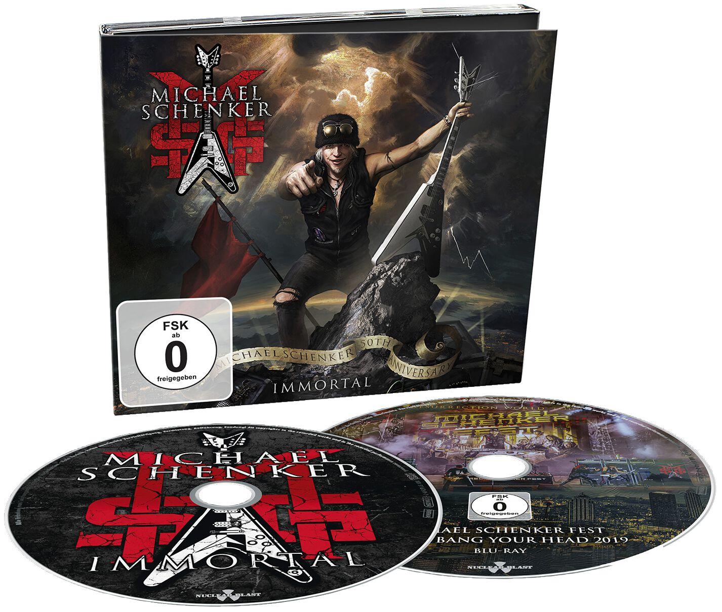 Image of Michael Schenker Group Immortal CD & Blu-ray Standard