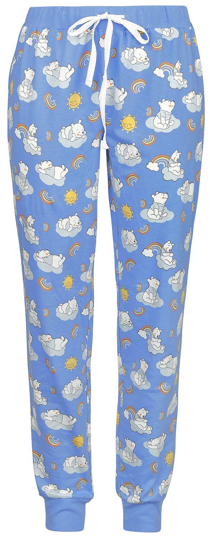 Winnie The Pooh - Happy Like A Rainbow - Pyjama-Hose - multicolor - EMP Exklusiv!