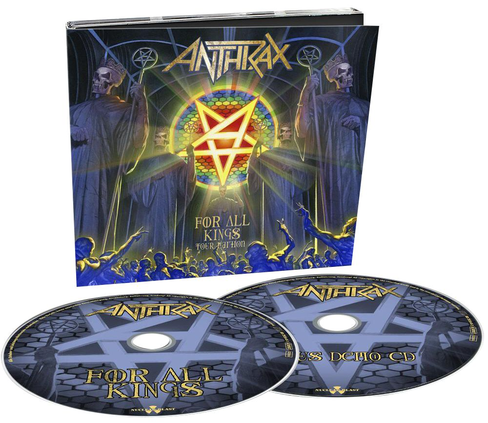 Image of Anthrax For all kings - Tour Edition 2-CD Standard