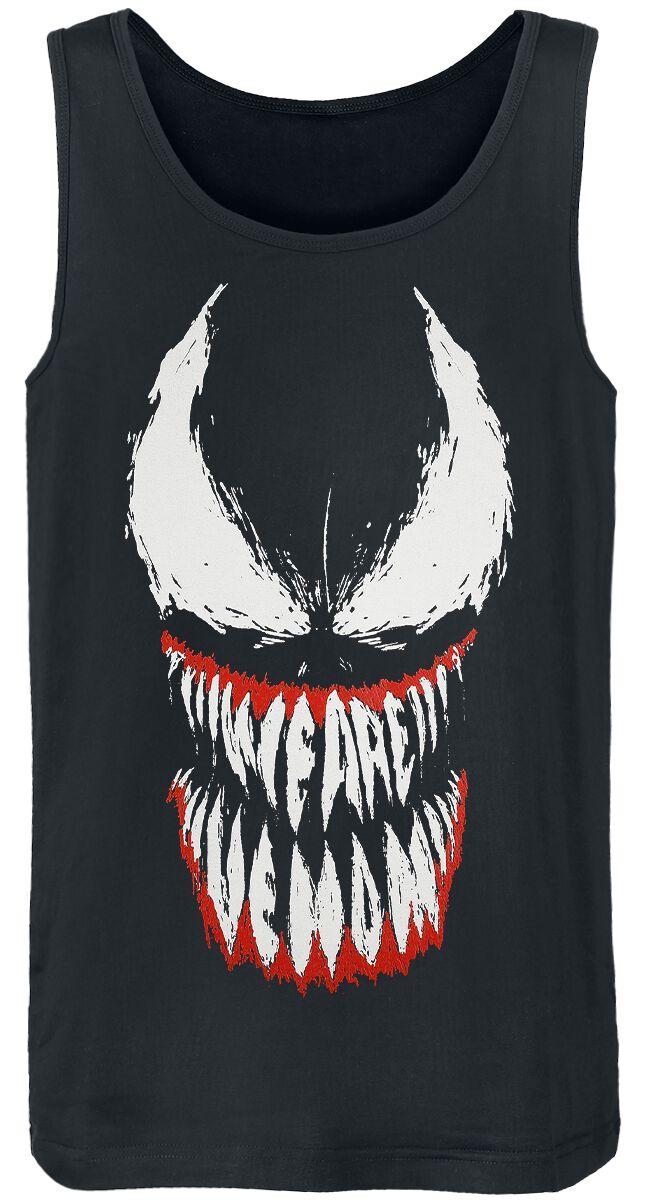 Venom (Marvel) We Are Venom Tank-Top schwarz MEVENOXTK001