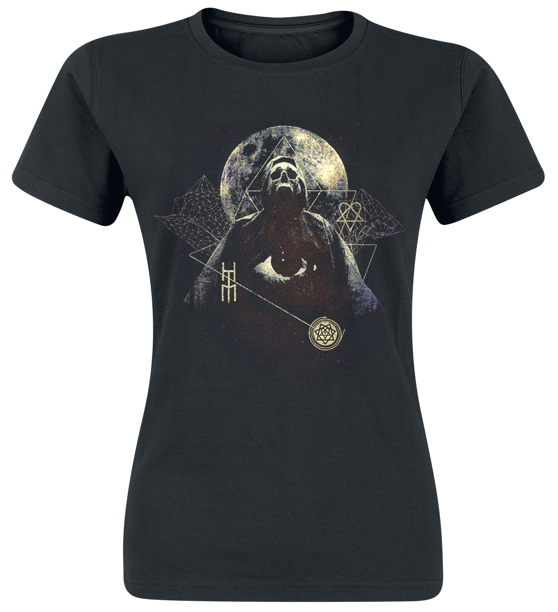 HIM - Death - Girls shirt - black image