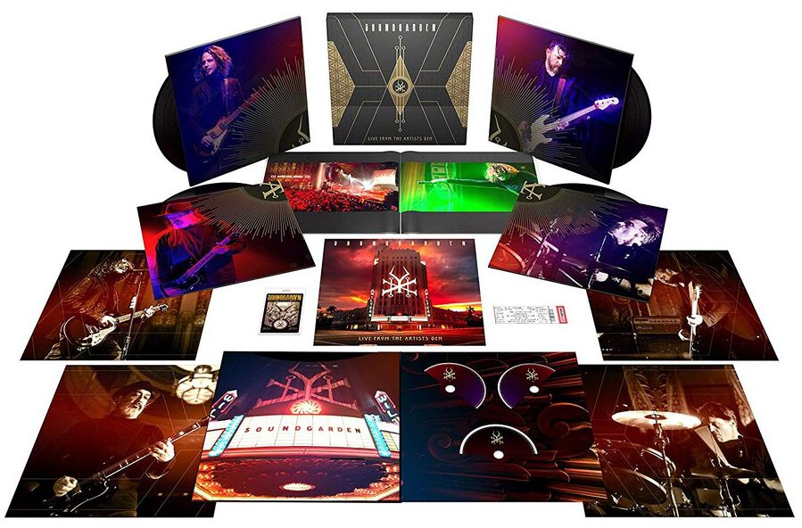 Image of Soundgarden Live from the artists Den 4-LP & 2-CD & Blu-ray Standard