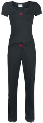 Boudoir Lace Long Pyjama