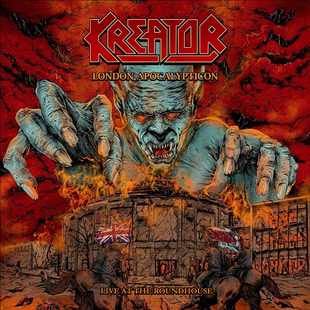 Image of Kreator London Apocalypticon - Live at the Roundhouse Blu-ray & CD Standard
