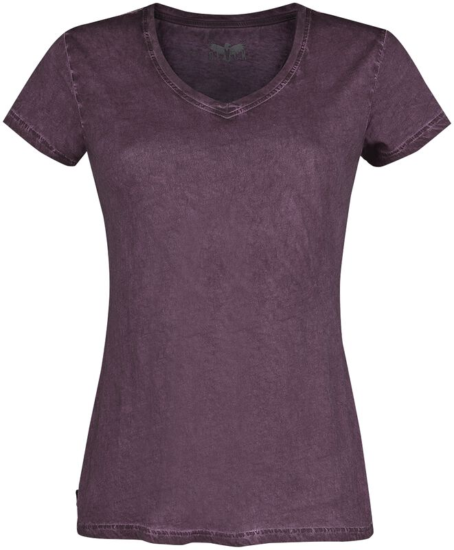 Lilanes T-Shirt mit V-Ausschnitt