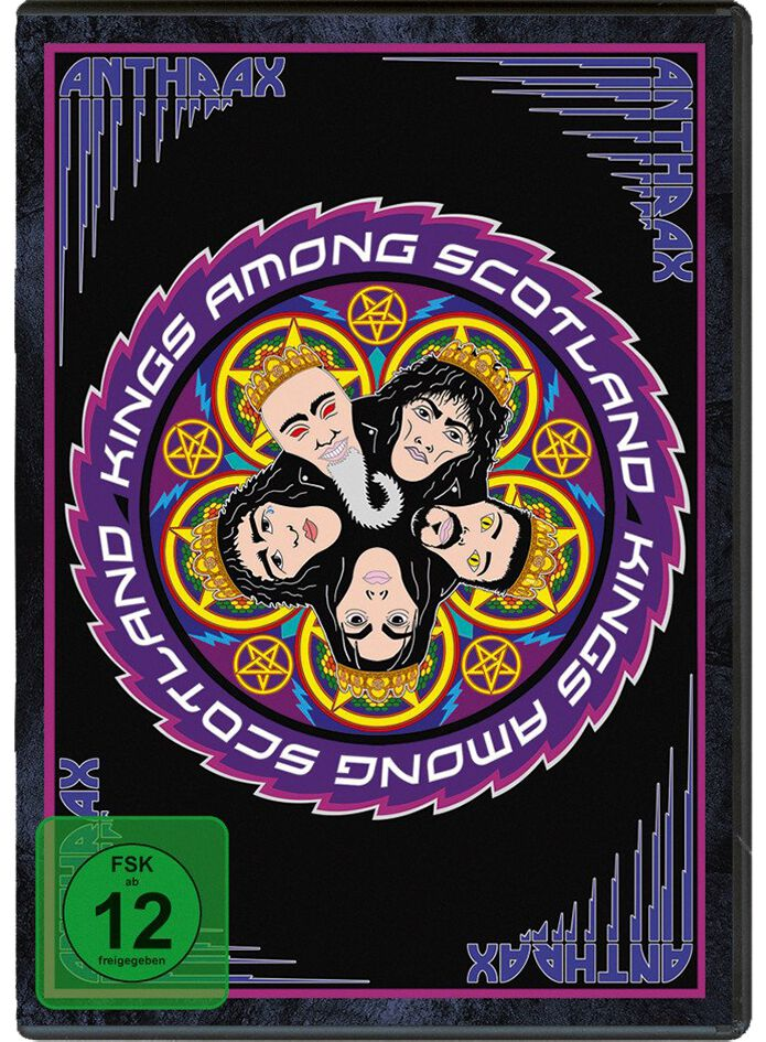 Image of Anthrax Kings among Scotland 2-DVD Standard