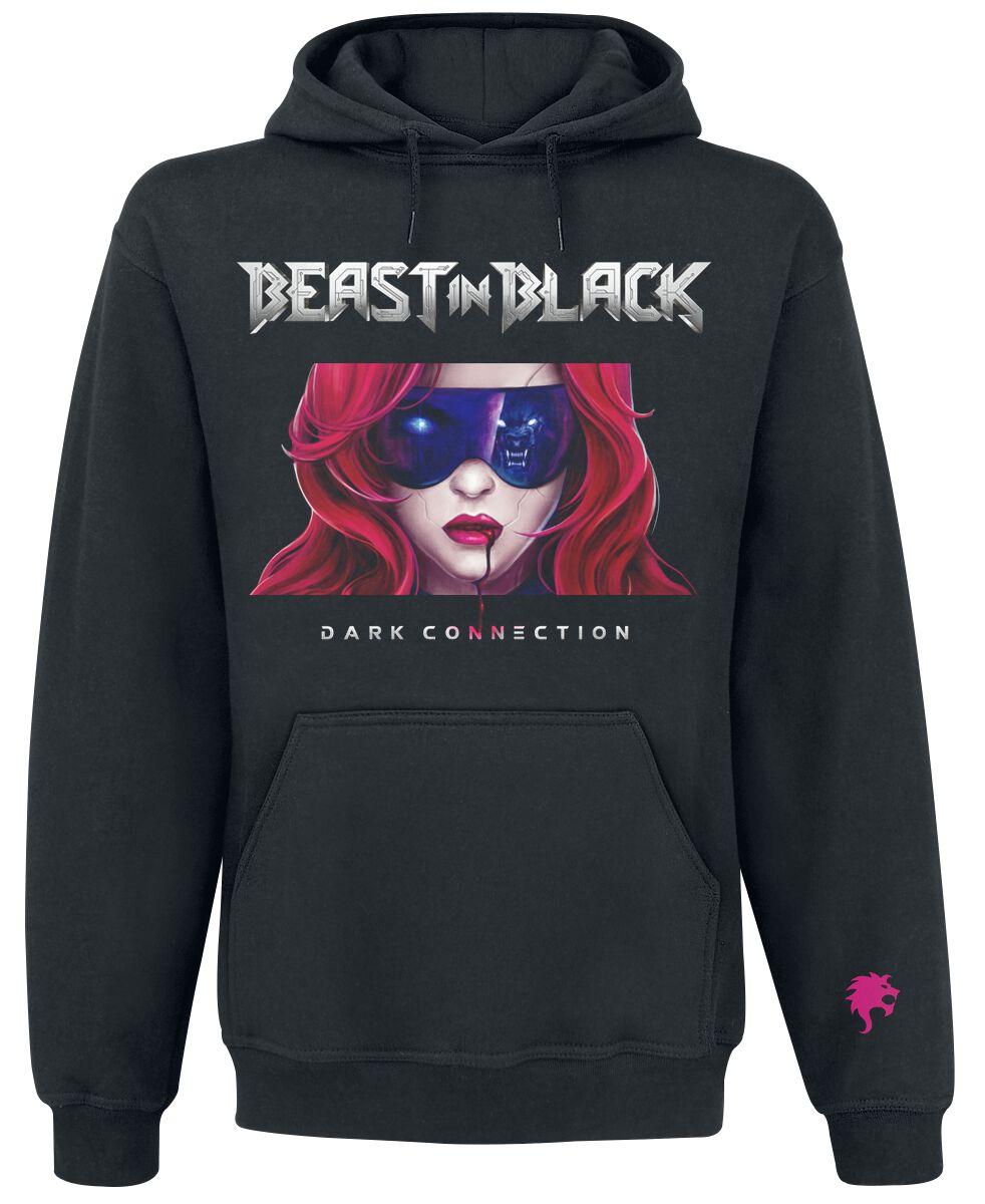 Image of Beast In Black Cover Kapuzenpulli schwarz