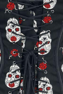 Skull Rose Corsage