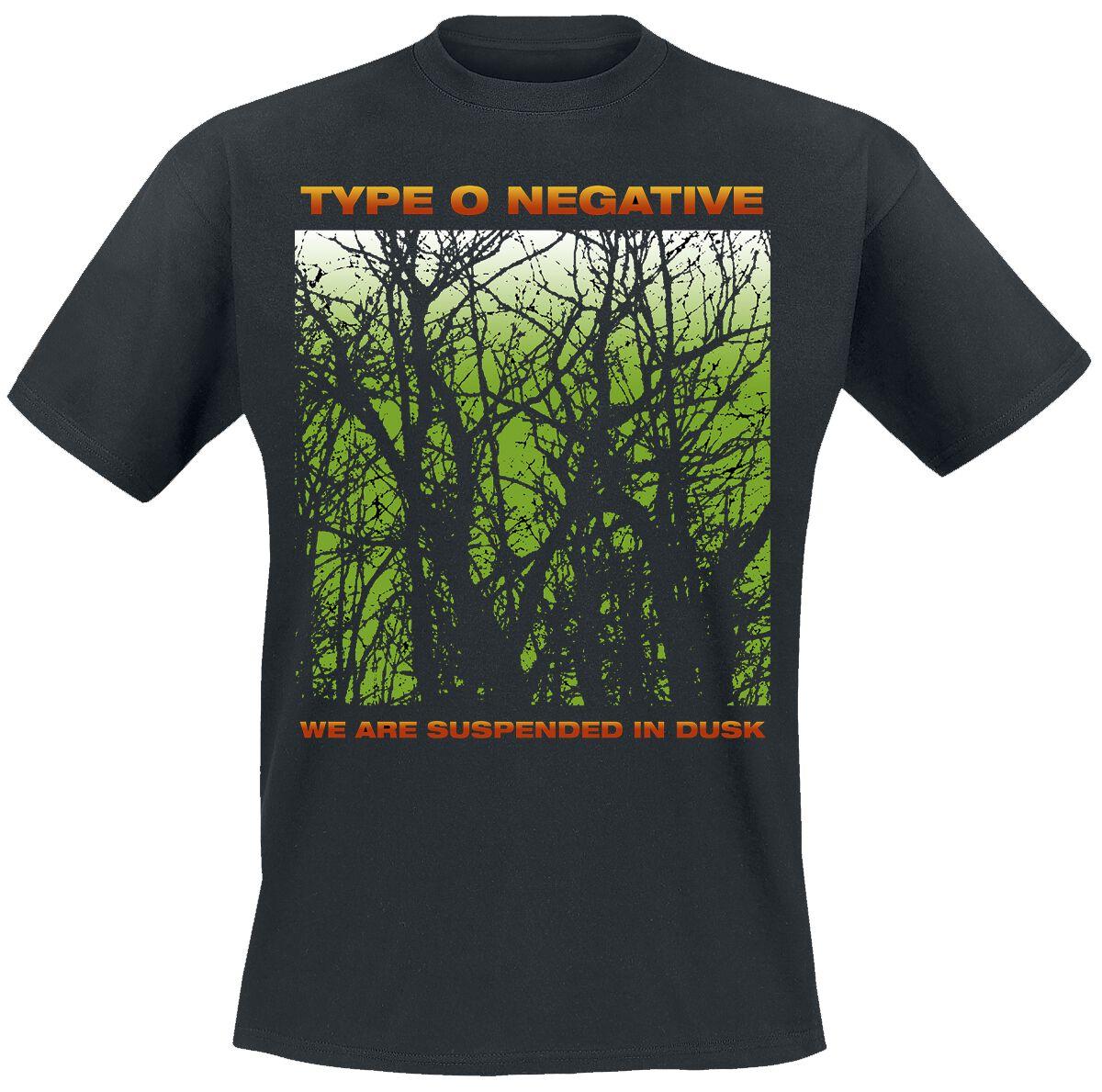 Type O Negative Suspend In Dusk  T-Shirt  schwarz