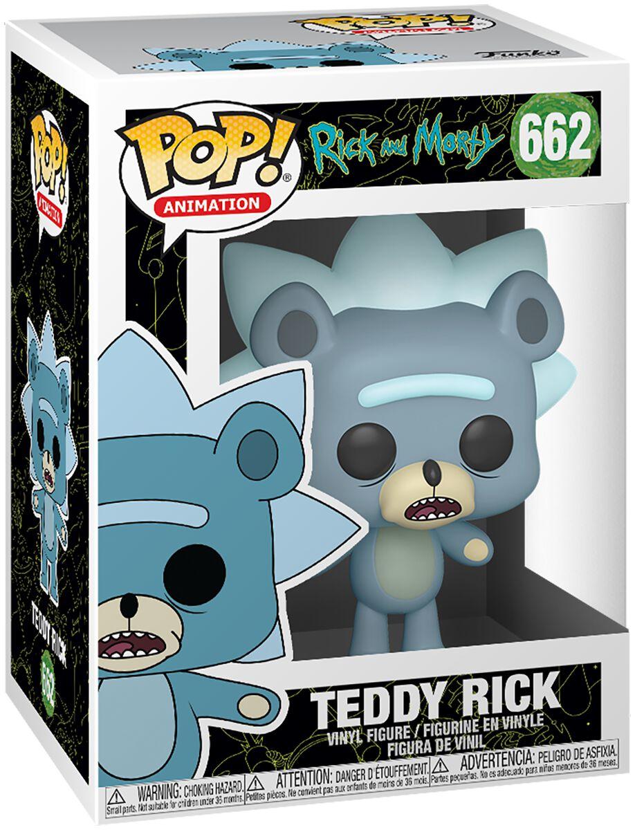 Rick And Morty Teddy Rick (Chase Edition möglich) Vinyl Figur 662 Funko Pop! multicolor 44250