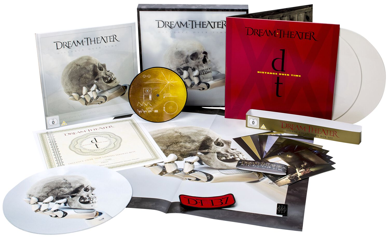 Image of Dream Theater Distance Over Time 2-CD & DVD & Blu-ray & 2-LP & 7 inch Standard