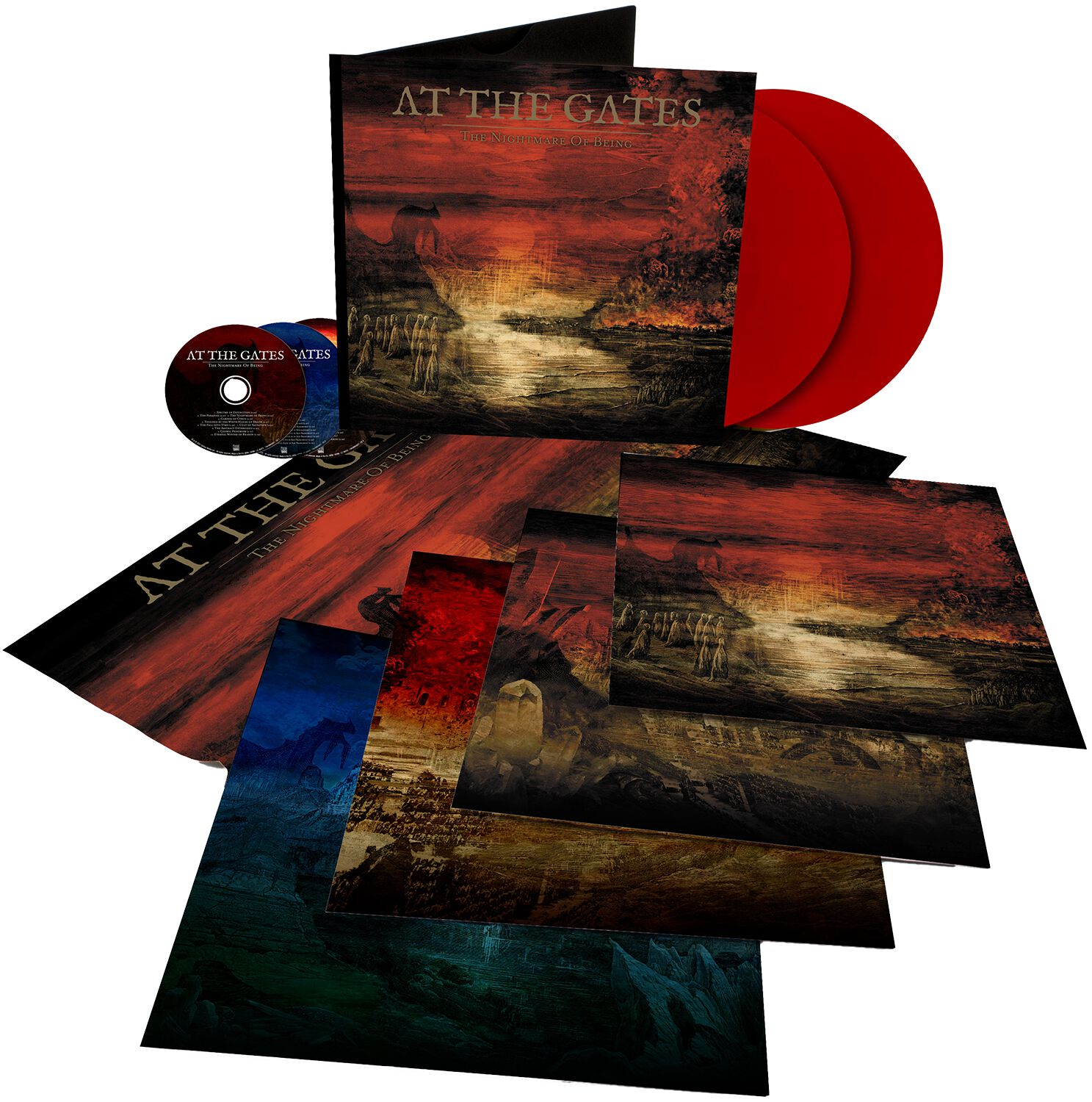 Image of At The Gates The nightmare of being 2-LP & 3-CD Standard