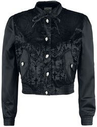 Cross Cameo Black Short Jacket