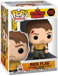 Rick Flag Vinyl Figur 1115