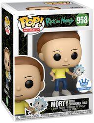 Morty with shrunken Rick (Funko Shop Europe) Vinyl Figur 958