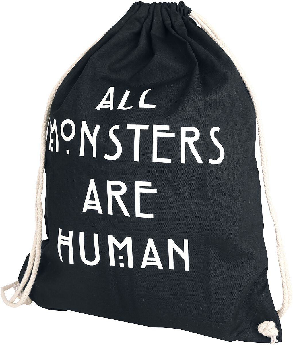 Image of American Horror Story All Monsters Are Human Turnbeutel schwarz
