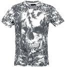 Black Rebel Skull