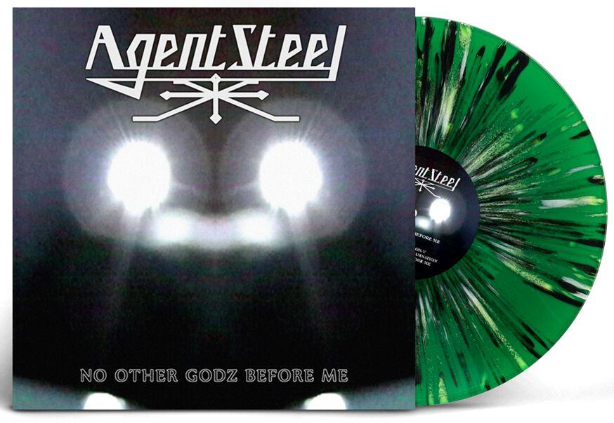 Image of Agent Steel No other gods before me 2-LP splattered