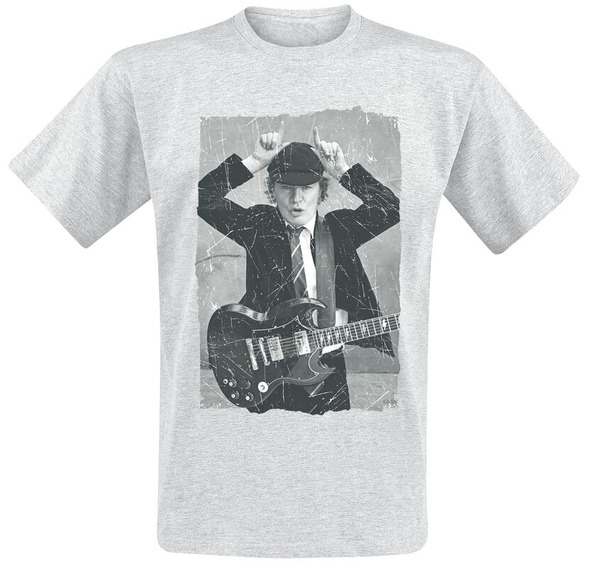 Angus Young Distressed Photo