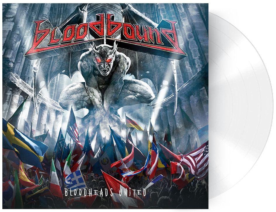 Image of Bloodbound Bloodheads united 10 inch-EP weiß
