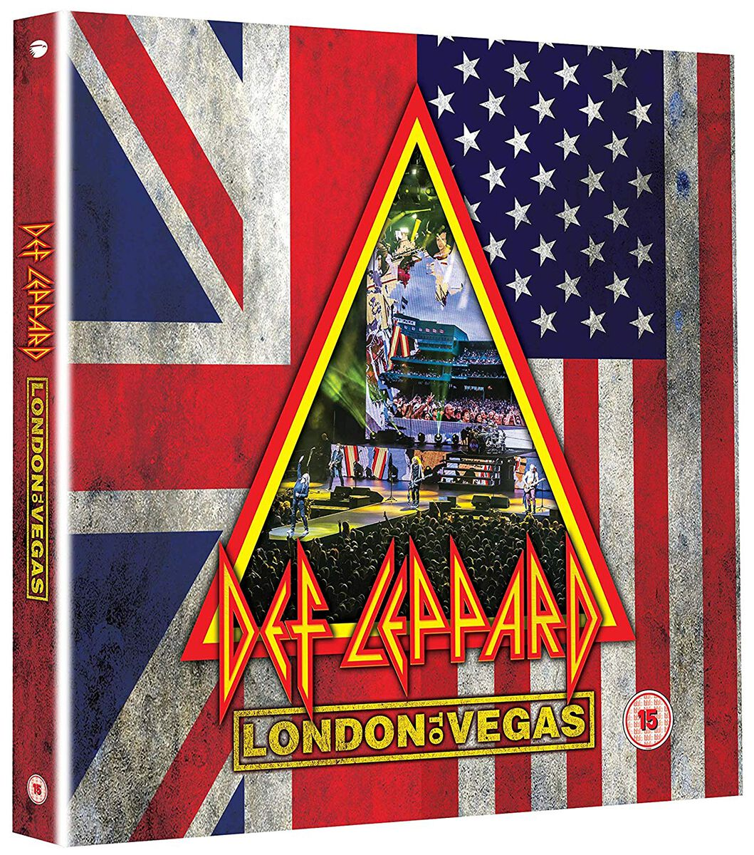 Image of Def Leppard London to Vegas 2-DVD & 4-CD Standard