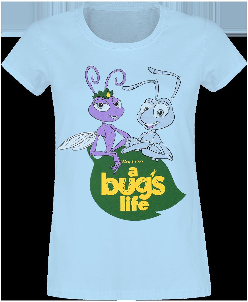 A Bug's Life - Logo Characters - Girls shirt - blue image